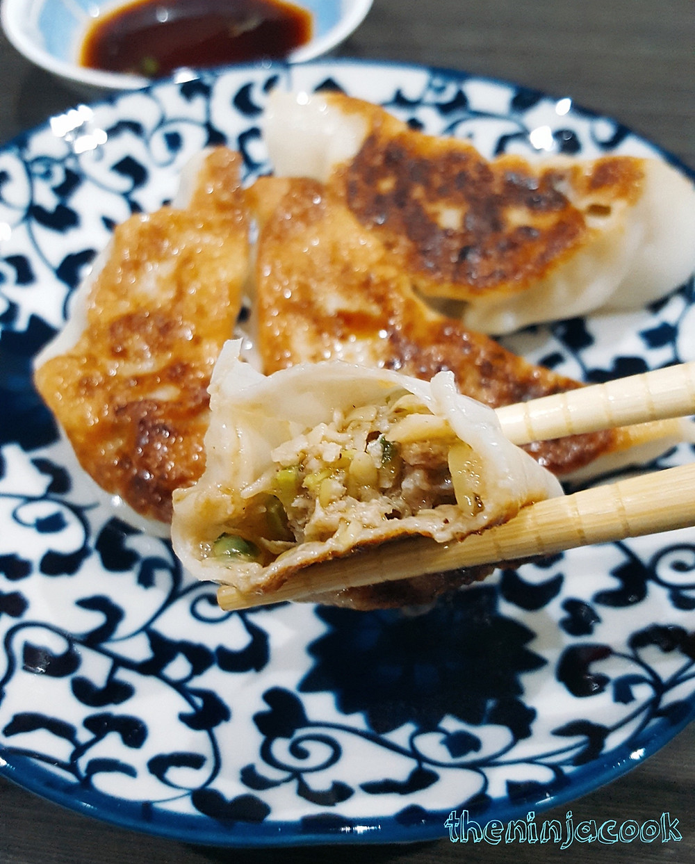 Fried Gyoza (Japanese Pot Stickers)