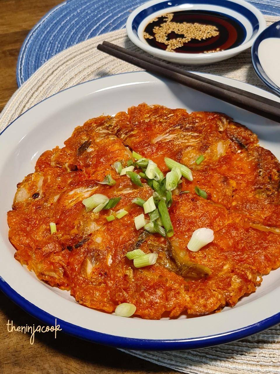 kimchi pancake, kimchijeon,, korean food, korean recipes