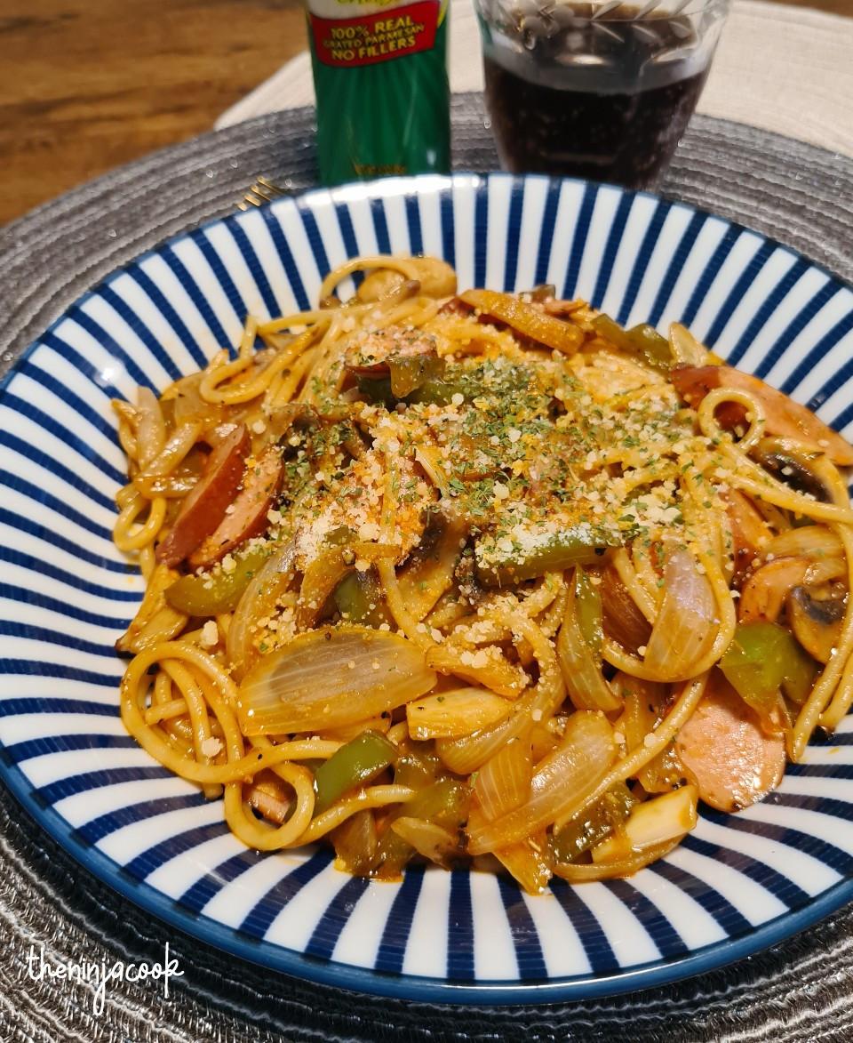 napolitan spaghetti, japanese recipes