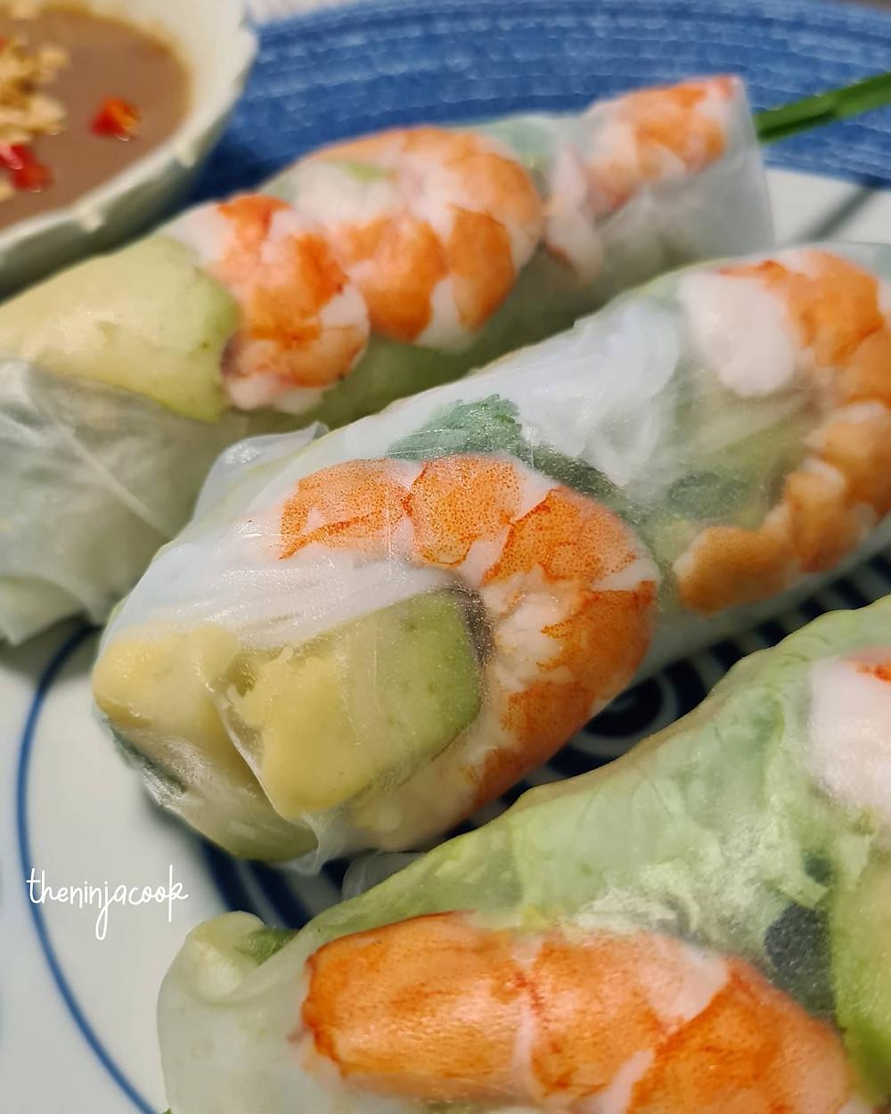 goi cuon, vietnamese spring rolls