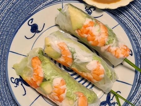 Goi Cuon - Healthy Fresh Vietnamese Spring Rolls