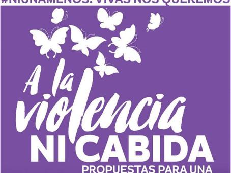 A LA VIOLENCIA NI CABIDA - Diagnóstico y propuestas para una ciudad con derechos