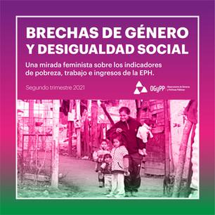 Brechas de género y desigualdad social