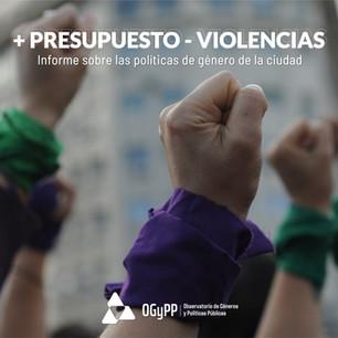 + PRESUPUESTO – VIOLENCIAS