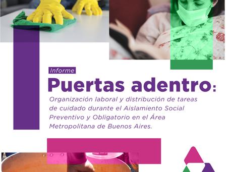 Organización laboral y distribución de tareas de cuidado durante el Aislamiento Social Preventivo