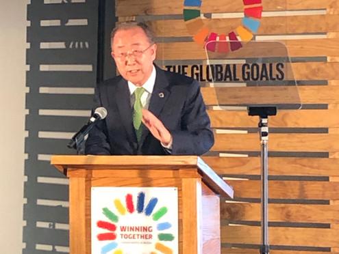 FN's generalforsamling gør status på verdensmålene