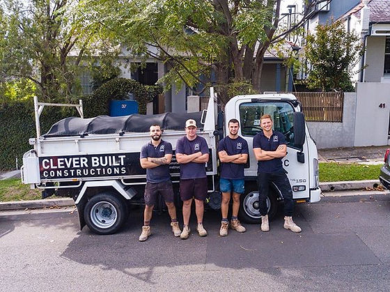 The ever growing team at Clever Built Co