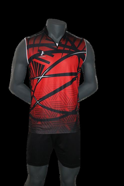 REENIX VOLLEYBALL PLAYING KIT- DEVIL RED