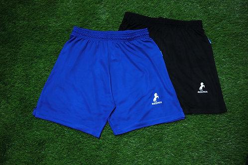 REENIX Volleyball Shorts 2 pcs Black and Royal Blue