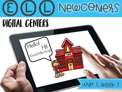 Digital Centers for ELL Newcomers