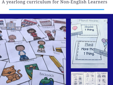 Everything YOU Need to Support ELL Newcomers- Taking the guesswork out of it!