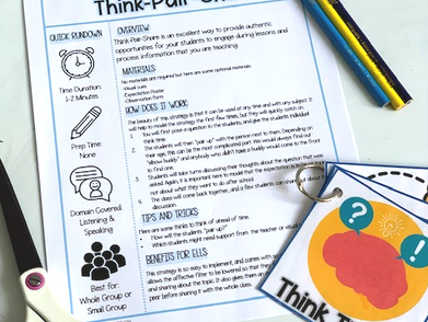 Student Engagement Series: Think-Pair-Share and 3 Ways to Make it More Meaningful.