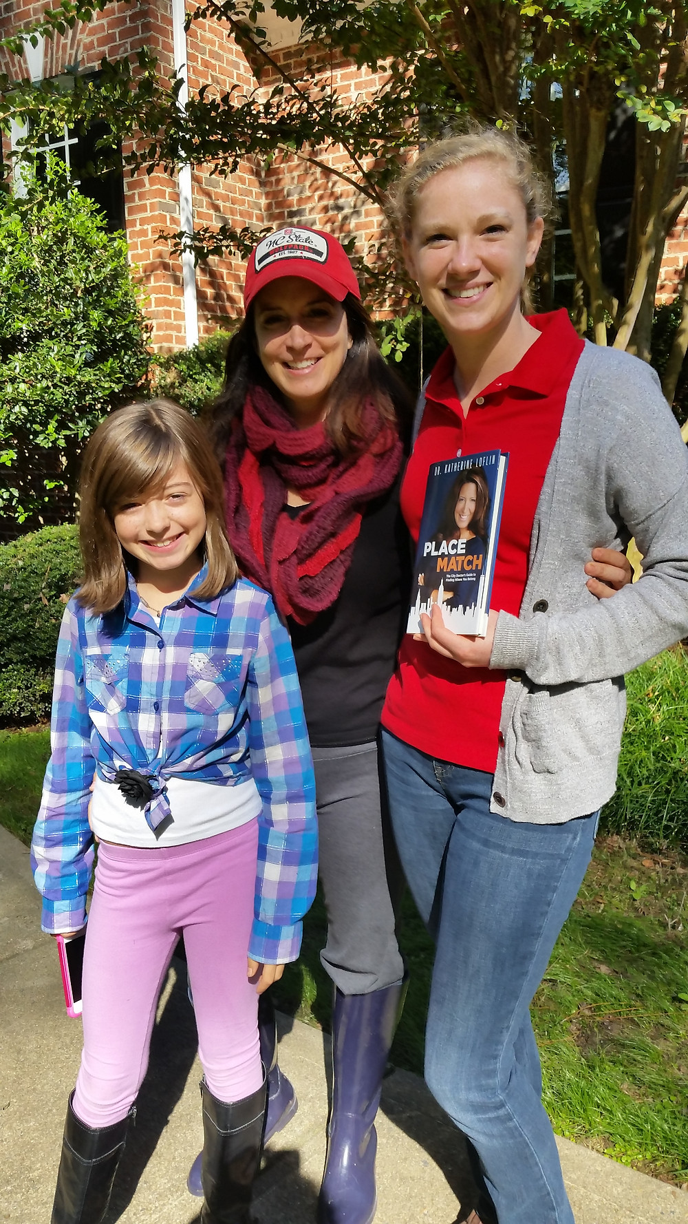 Me with Katherine Loflin @thecitydoctor and her daughter Grace