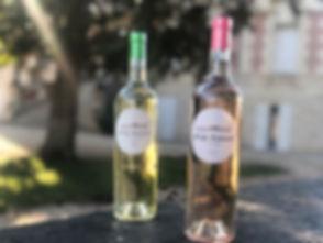vin blanc et rosé apéritif monptitferret