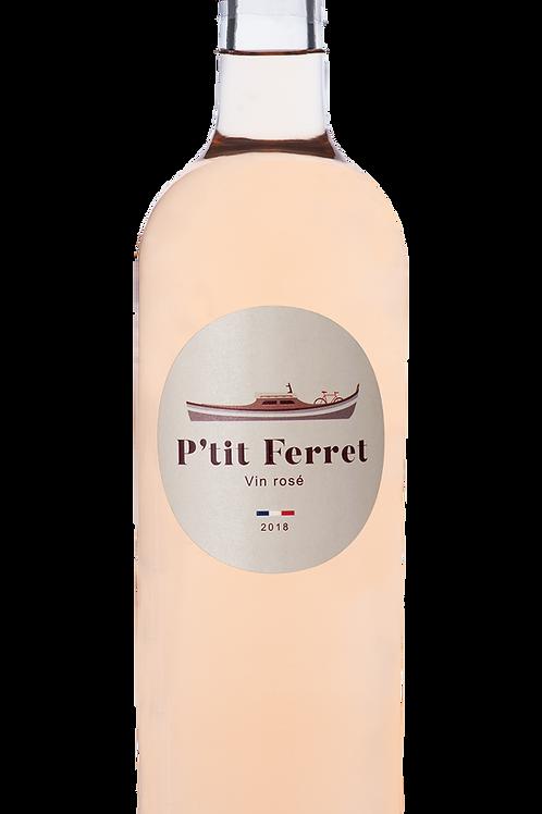Carton 6 bouteilles P'tit Ferret Rosé - Rosé de Bordeaux 2019