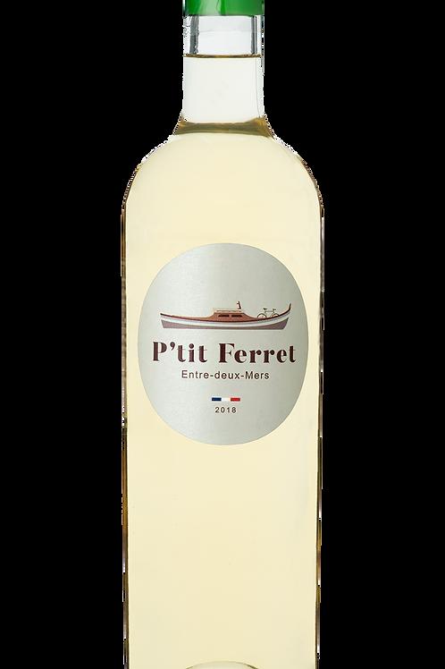 Carton 6 bouteilles P'tit Ferret Blanc - AOC Entre deux Mers 2020