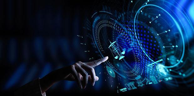 Legal advice technology service concept
