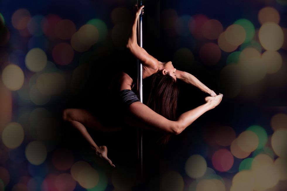 bailarín de barra
