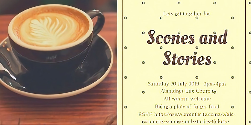 Scones and Stories