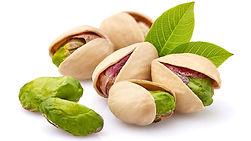 pistachios_leaveswhite_background_304521