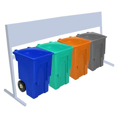 Estacion de Reciclaje ALV 1440 Litros
