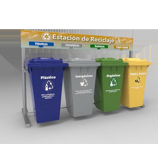 Estación de Reciclaje ECOL 960 HDG1