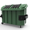 Thumbnail: Contenedor para Basura VIC-2000 Con Laterales Metalicas