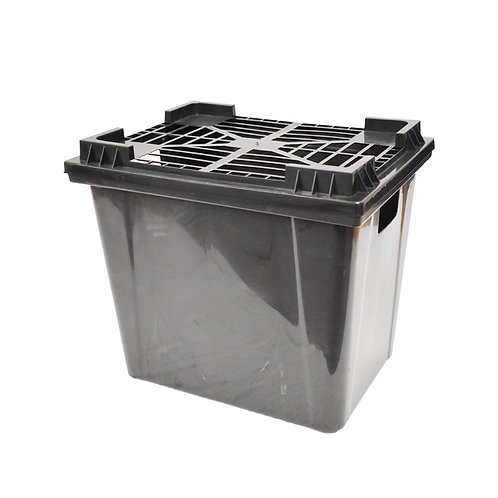 Caja Rejilla de Plastico Brendys 23.5cm x 33.5cm x 32.5cm