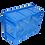 Caja de plastico Agricola Bambao