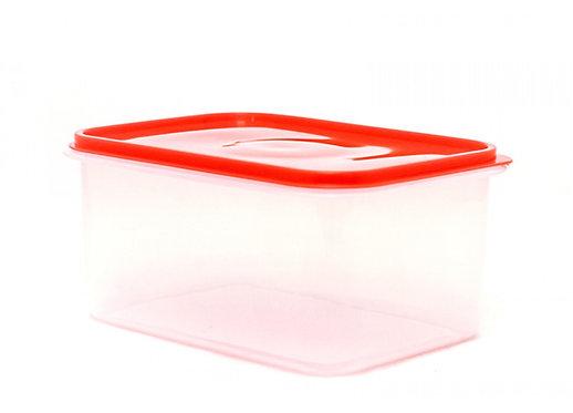 Caja Plastica Transparente con Tapa Hermetica Nº 3 34cm x 24.5cm x 16cm