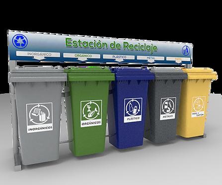 ESTACION DE RECICLAJE ECOL-600-HD1