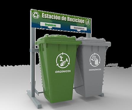 ESTACION DE RECICLAJE ECOL-480-HDG1