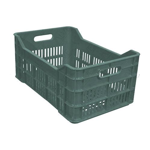 Caja de Plástico Agricola Mediana Calada