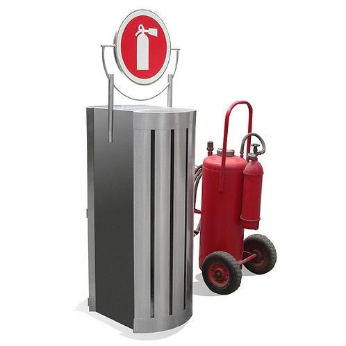 Portaextintor Gigante 70x53x135.5 Acero Inoxidable