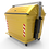 Thumbnail: Contenedor Metalico 2600 Lts