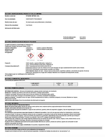 Hoja de Seguridad de Gel Antibacterial.p