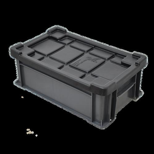 Caja Industrial con Tapa Nueva Baja No. 1 44.8cm x 27.3cm x 12cm