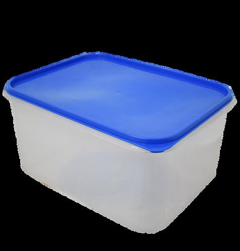 Caja Plastica Transparente con Tapa Hermetica Nº 6 46.5cm X 35cm X 24cm