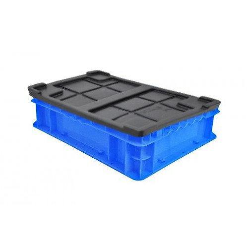 """Caja de Plastico con Tapa Tier One 14"""" X 11"""" X 4"""""""