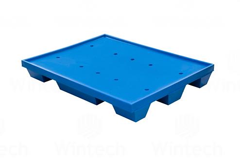Tarima de Plastico Rotomoldeo WT-04 121cm x 95cm x 17cm