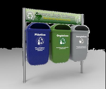 Estacion de Reciclaje EUROPA 150 HDG1