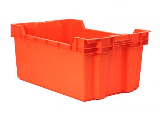 Caja de Plastico Ontario Cerrada 60 x 40 x 28 cm