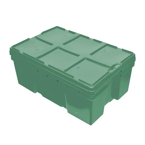 Caja de Plastico con Tapa Montreal Cerrada de 28 Reproceso