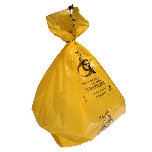Bolsa RPBI Amarilla 55x60