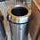 Thumbnail: Bote de Acero Inoxidable DUST Con Tapa Embudo de 65 litros