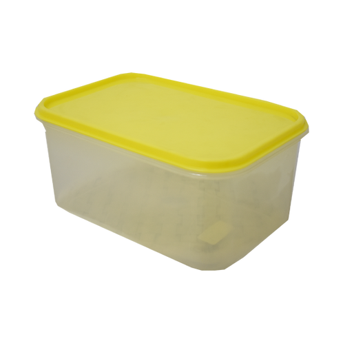 Caja Plastica Transparente con Tapa Hermetica Nº 2