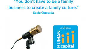 President of Ramar Foods International, Susie Quesada, appears on Gooder and Human Capital Podcasts