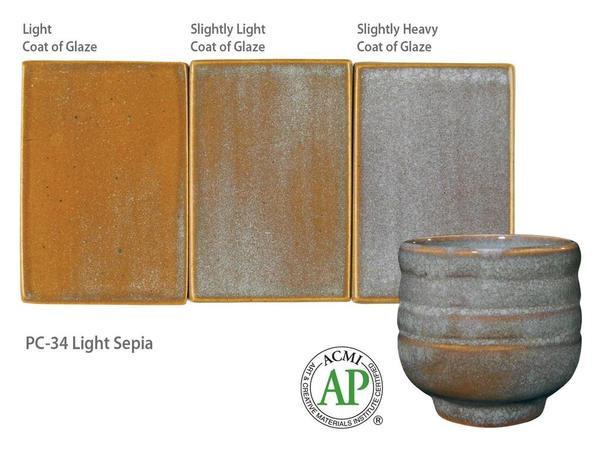 PC-34_Light Sepia glaze
