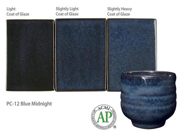 PC-12_Blue Midnight glaze