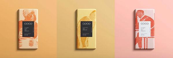 Rachael Hood COCO Chocolate Bar Wrappers